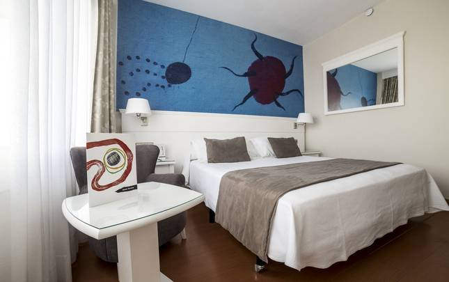 Chambre double Hotel Joan Miró Museum Palma